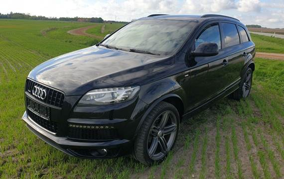 Audi Q7 3,0 TDi 245 S-line quattro Tiptr.