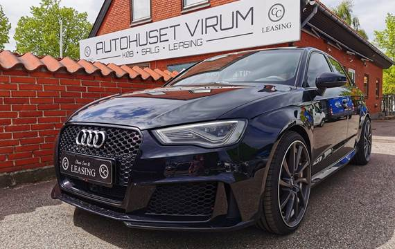 Audi RS3 sportback 2.5 TFSI - 367 hk quattro S tronicOm Virksomheden: