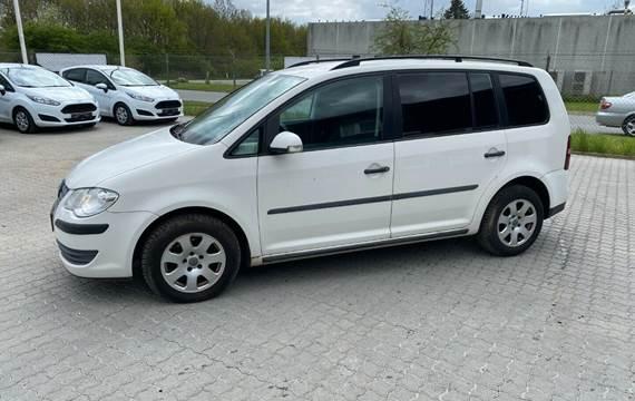 VW Touran 1,9 TDi Van