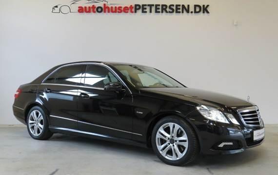 Mercedes E350 3,5 CGi Avantgarde aut. BE