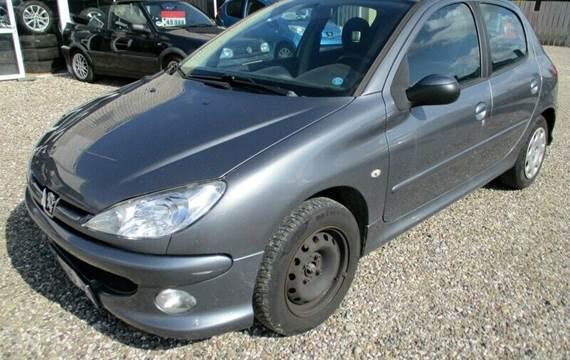 Peugeot 206 1,4 HDi Comfort+