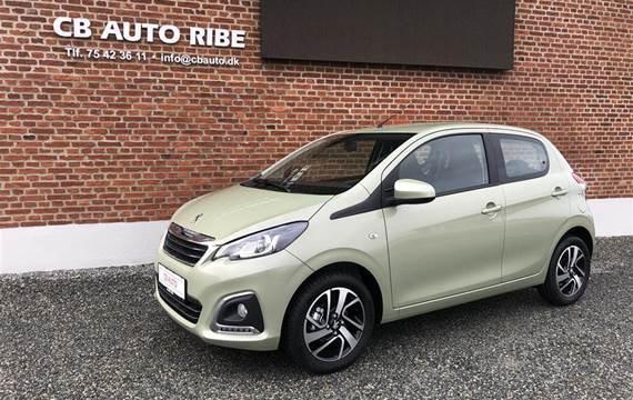Peugeot 108 1,0 e-Vti Selection  5d