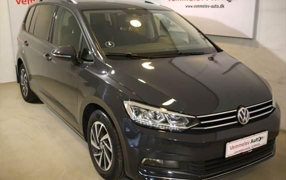 VW Touran 2,0 TDi 150 Sound DSG 7prs