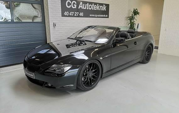 BMW 645Ci 4,4 Cabriolet Steptr.