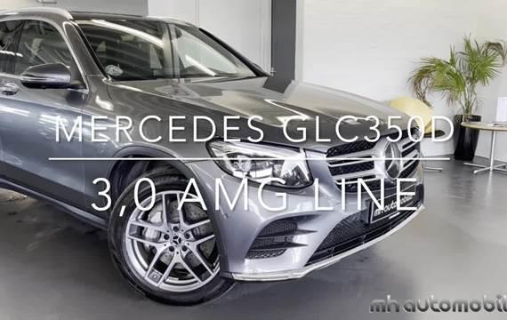 Mercedes GLC350 d 3,0 AMG Line aut. 4Matic