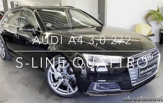 Audi A4 3,0 TDi 272 S-line Avant quattro Tiptr.