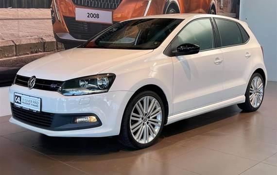 VW Polo 1,4 1,4 TSI BlueGT DSG  5d 7g Aut.