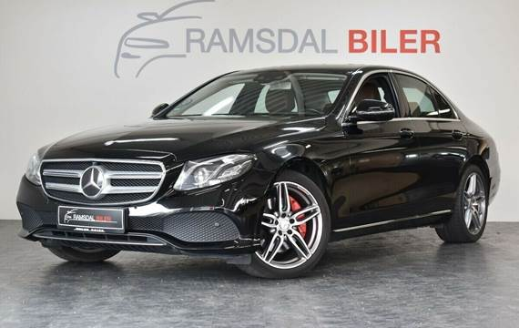 Mercedes E350 d 3,0 Exclusive aut.