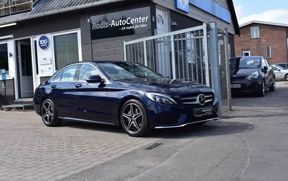 Mercedes C220 d 2,2 AMG Line aut.