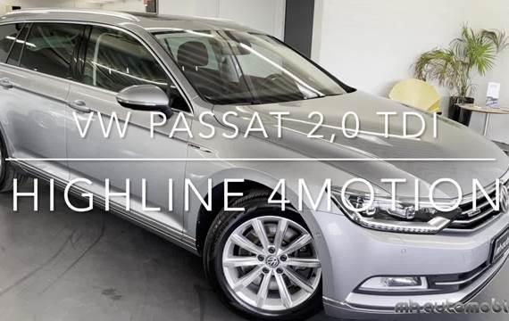 VW Passat 2,0 TDi 240 Highline Variant DSG 4Motion