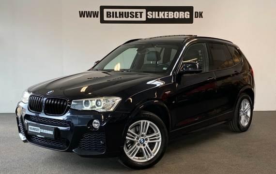 BMW X3 3,0 xDrive30d M-Sport aut. Van