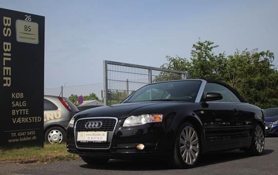 Audi A4 3,2 FSi Cabriolet Multitr.