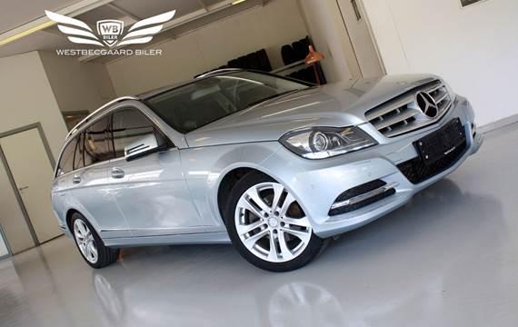 Mercedes C250 2,2 CDi Avantgarde stc. aut. BE