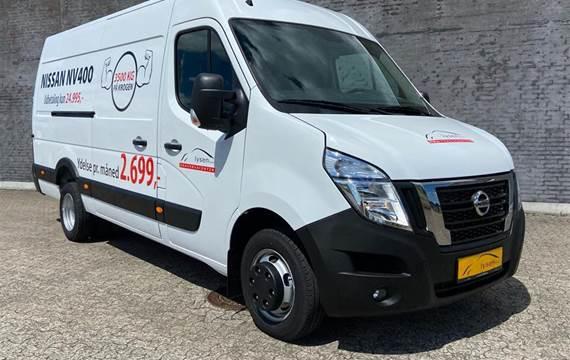 Nissan NV 400 2,3 L3H2  DCi Working Star tvillingedæk Start/Stop  Van 6g
