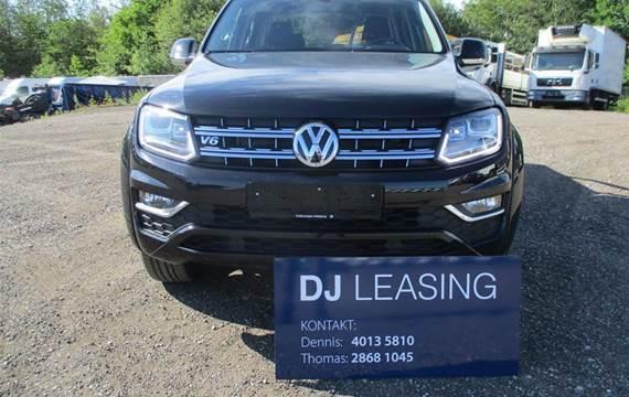 VW Amarok 3,0 V6 TDI Highline 4Motion  Pick-Up 8g Aut.