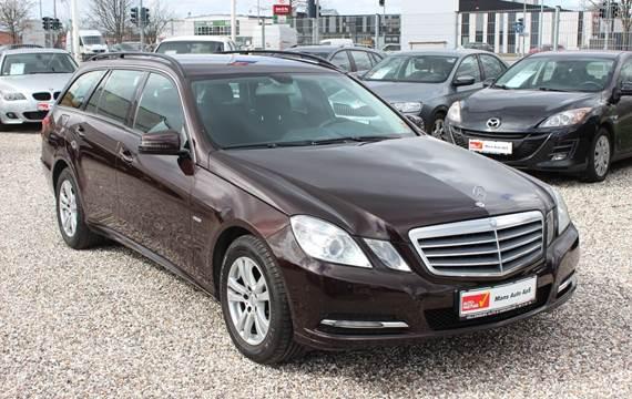 Mercedes E220 2,2 CDi stc. aut. BE