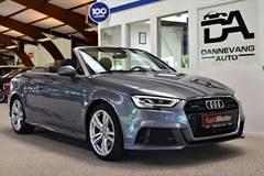 Audi A3 TFSi Limited+ Cabriolet quattro S-tr.