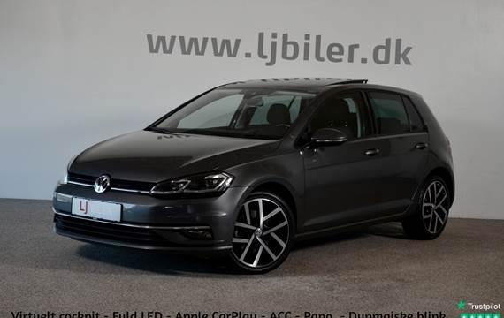 VW Golf VII 2,0 TDi 150 Highline DSG