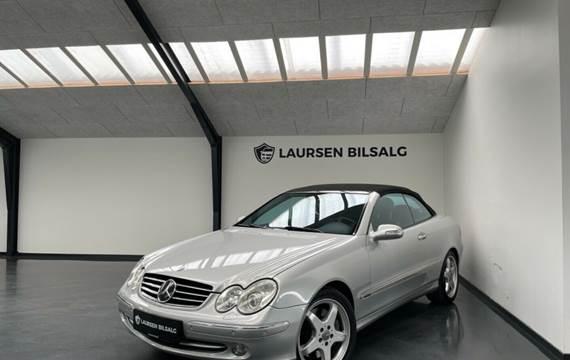 Mercedes CLK500 5,0 Cabriolet Avantgarde aut.
