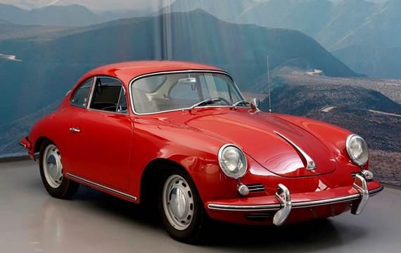 Porsche 356 SC 1,6 Coupé