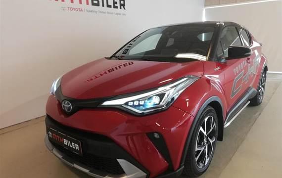 Toyota C-HR 1,8 Hybrid C-LUB Premium Bi-tone Multidrive S  5d Aut.