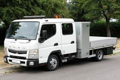 Mitsubishi Fuso Canter 3,0 Td 3C150 35/3400 Mandskabsvogn aut.