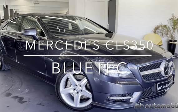 Mercedes CLS350 3,0 BlueTEC aut.
