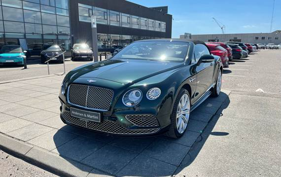 Bentley Continental GT V8 S AWD 528HK Cabr. 8g Aut.