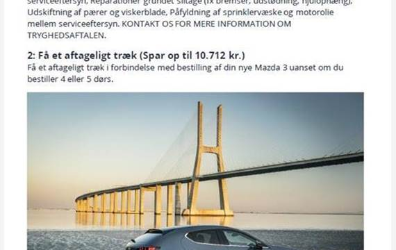 Mazda 3 2,0 Skyactiv-G  Mild hybrid Cosmo  5d 6g Aut.