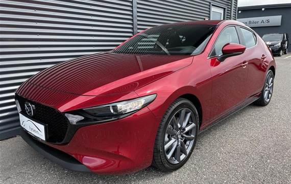Mazda 3 2,0 Skyactiv-G  Mild hybrid Sky  5d 6g Aut.