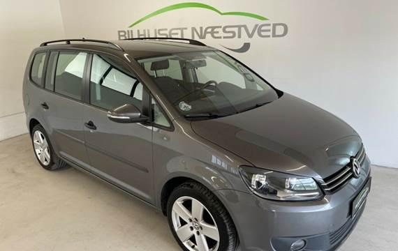VW Touran 1,6 TDi 105 Comfortline BMT 7prs