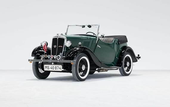 Morris Eight 0,9 Cabriolet