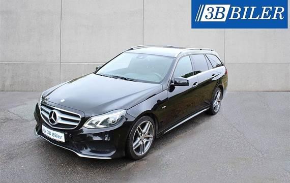 Mercedes E350 d 3,0 T 3,0 Bluetec 4-Matic 7G-Tronic Plus 258HK Stc 7g Aut.