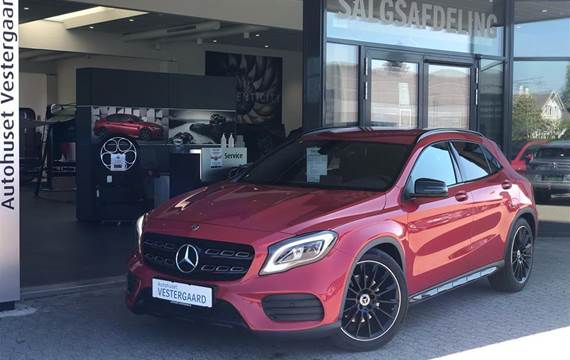 Mercedes GLA220 d 2,1 CDI 7G-DCT  5d 7g Aut.