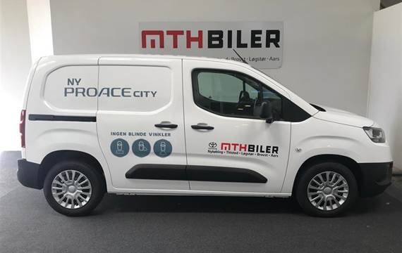 Toyota ProAce City 1,5 Medium  D Comfort Smart Active Vision  Van