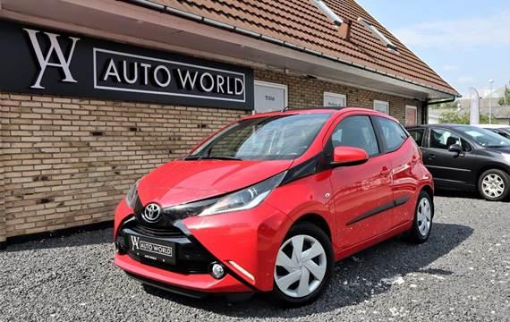 Toyota Aygo 1,0 VVT-i x-wave x-shift Sky
