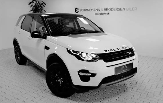 Land Rover Discovery Sport 2,0 TD4 180 HSE Luxury aut.