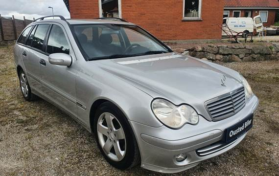 Mercedes C220 2,2 CDi Classic stc. aut.