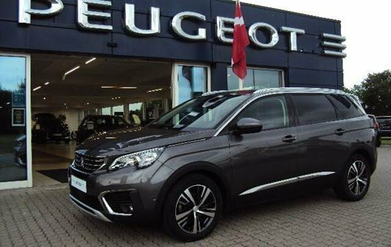 Peugeot 5008 1,6 BlueHDi 120 Allure EAT6