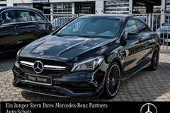 Mercedes CLA45 AMG 4M Coupé EXKLUSIVE+NIGHT+KEYLESS+LED+