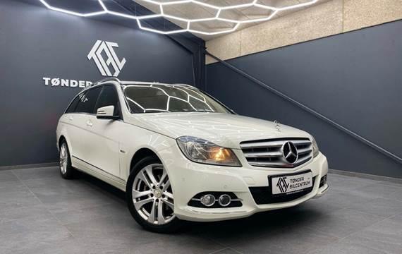 Mercedes C220 2,2 CDi Avantgarde stc. aut. BE