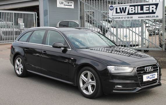 Audi A4 3,0 TDi 245 S-line Avant quattro S-tr.