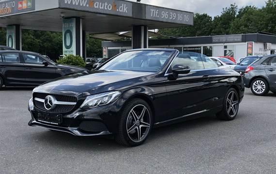 Mercedes C220 d 2,2 Cabriolet aut.