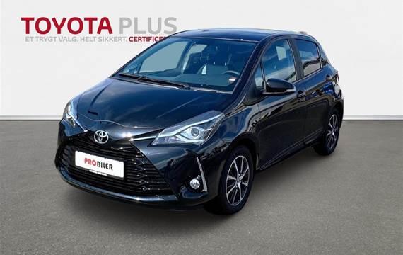 Toyota Yaris 1,5 VVT-I T2 Limited  5d 6g