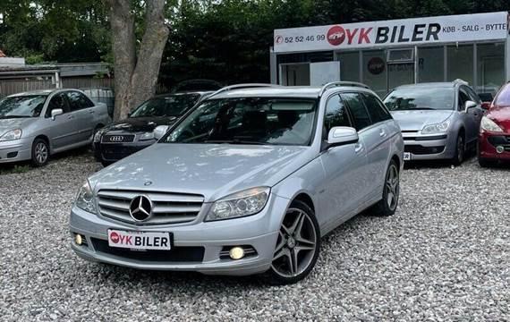 Mercedes C220 2,2 CDi Elegance stc. aut.