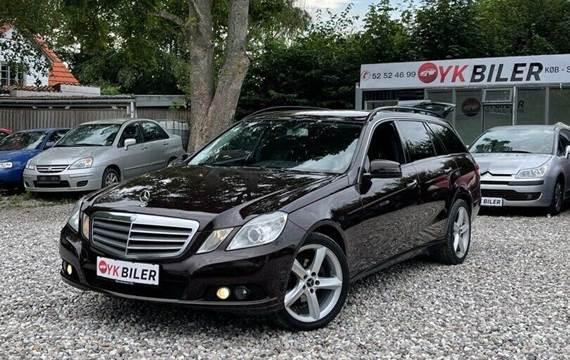 Mercedes E200 2,2 CDi Avantgarde stc. aut. BE