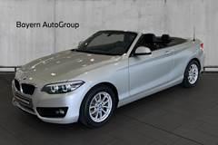 BMW 218i 1,5 Cabriolet