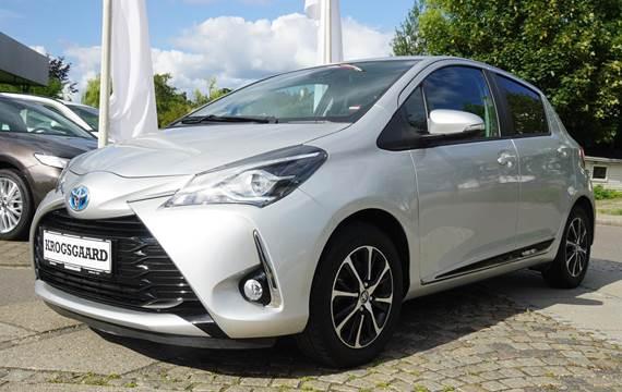 Toyota Yaris Hybrid H3 Smartpakke E-CVT 100HK 5d Trinl. Gear