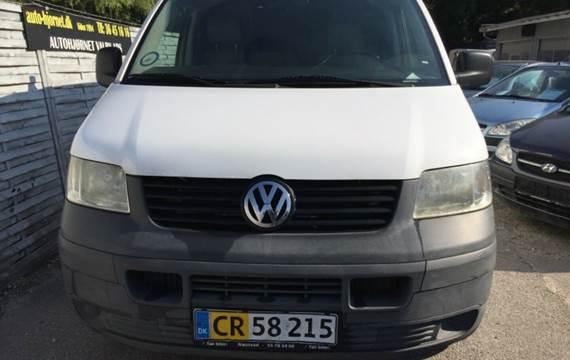 VW Transporter 2,5 TDi 174 Kassevogn Tiptr. lang