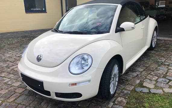 VW New Beetle 1,6 2-dørs cabriolet